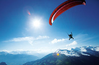 Gleitschirmflug / Gleitschirmfliegen als Gutschein verschenken